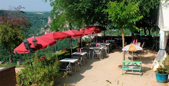 Crêperie et restaurant à Rocamadour
