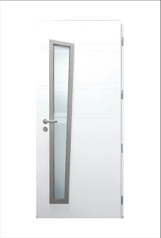 Porte d'entrée en aluminium à Niort - OPALE