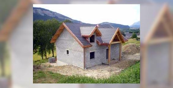 Suptil et Fils - Saint Baldoph - toiture maison neuve