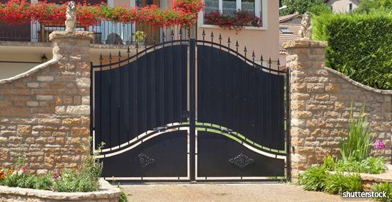 APIC, pose de portail en Vendée (85)