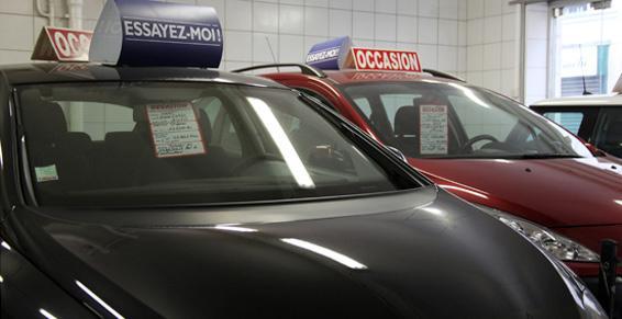 Choix d'automobiles d'occasion, à Paris 15e