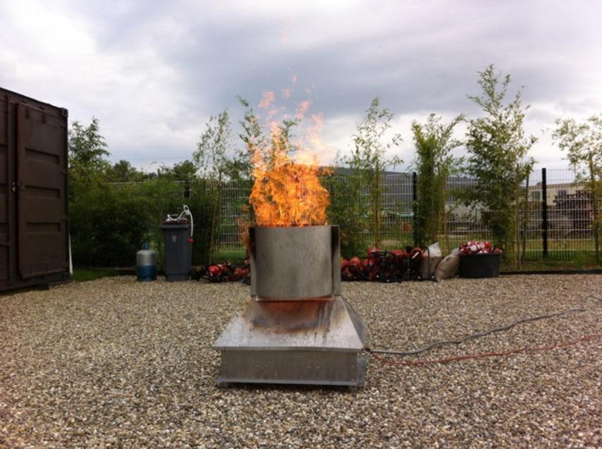 simulateur de feu Ardi sécurité incendie