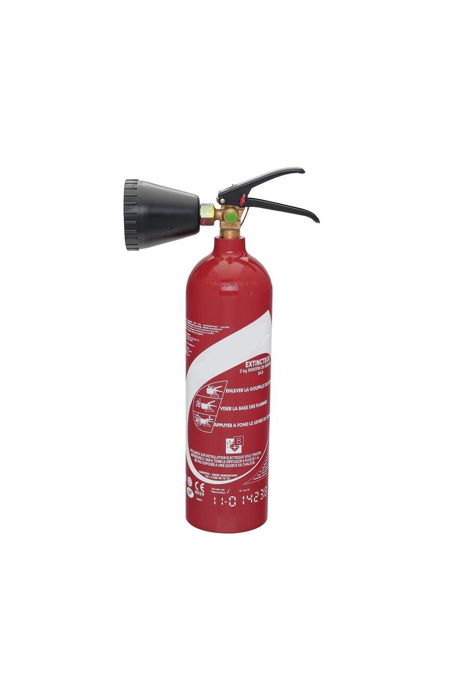 extincteur co2 Ardi securite incendie
