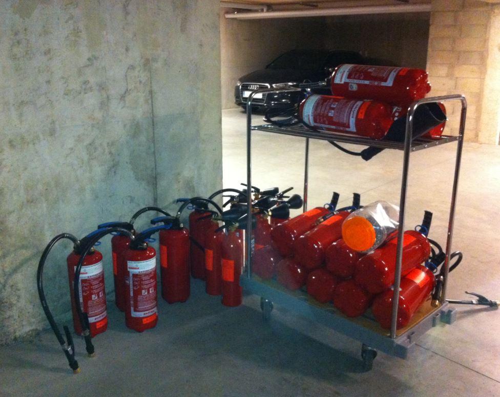installation extincteurs Ardi sécurité incendie