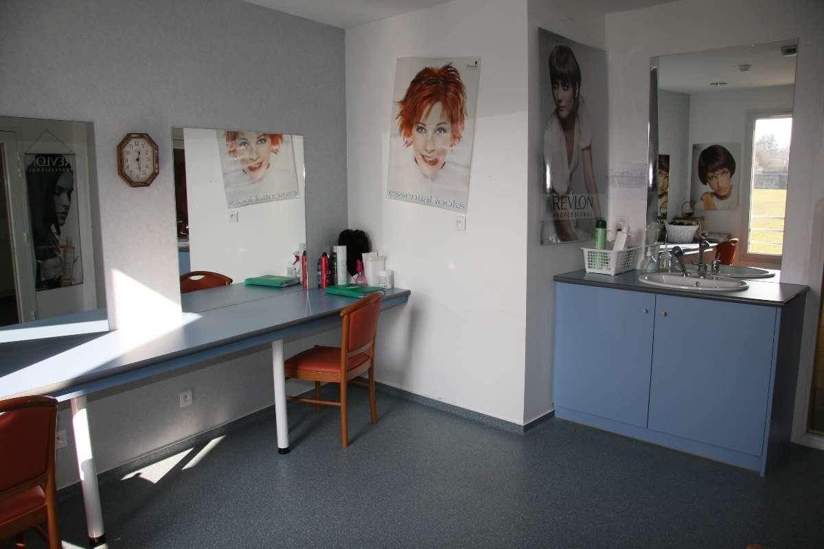 Le salon de coiffure du Foyer de Retraite du Combattant à Blaye