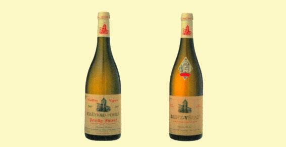 Vins appellation Pouilly-Fuissé
