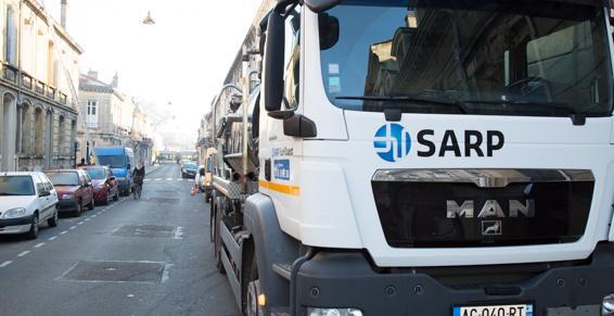 SARP Sud-Ouest : nos véhicules sont optimisés pour tous les travaux