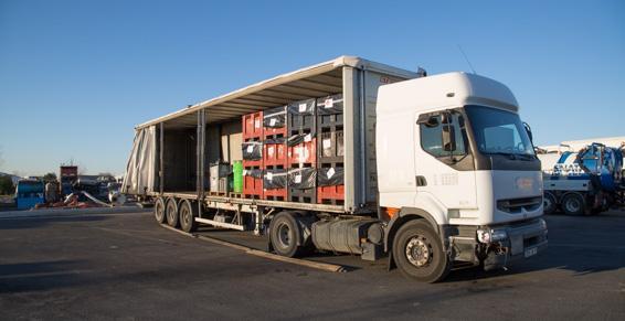 SARP Sud-Ouest : support logistique pour le transport des déchets