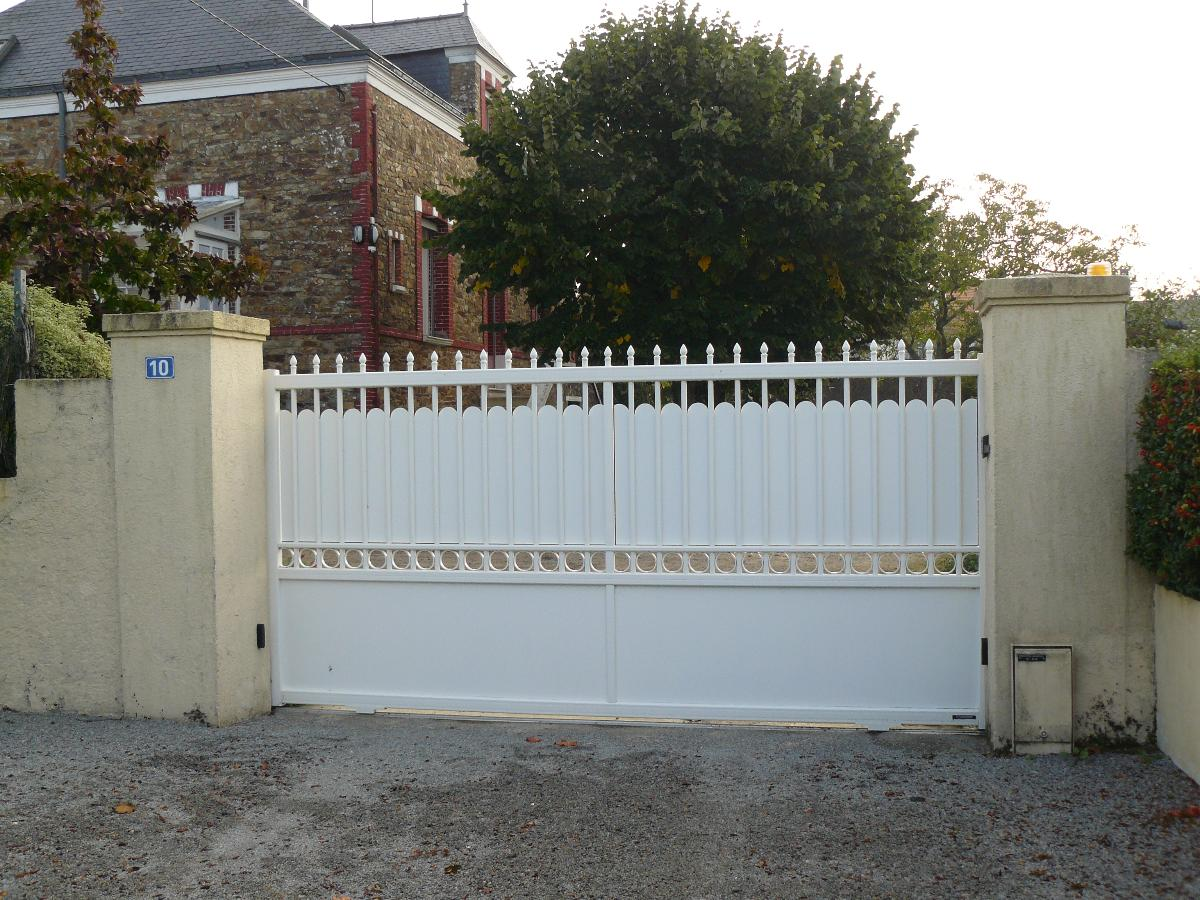 portail de clôture coueron
