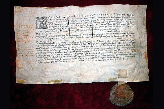 Diplôme de maître vinaigrier aux armes royales sous Louis XIV