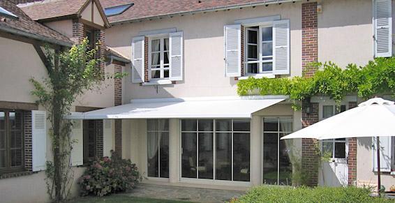 Store de jardin pour terrasse