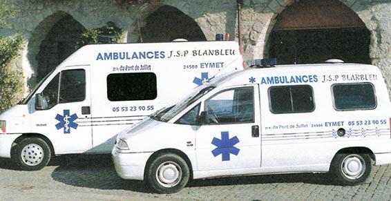 JSP Blanbleu - ambulances taxis à Eymet