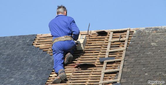 Rénovation et réparation de toitures par Gérald Philip à Plouescat