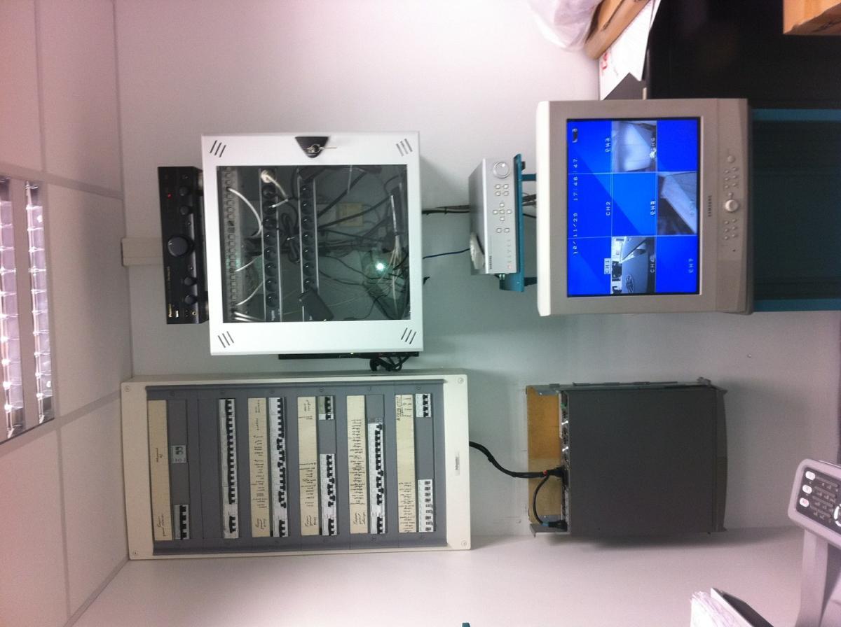 Installation de salle d'informatique