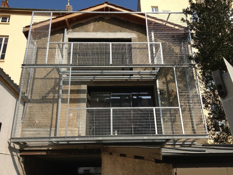 Balcon métal