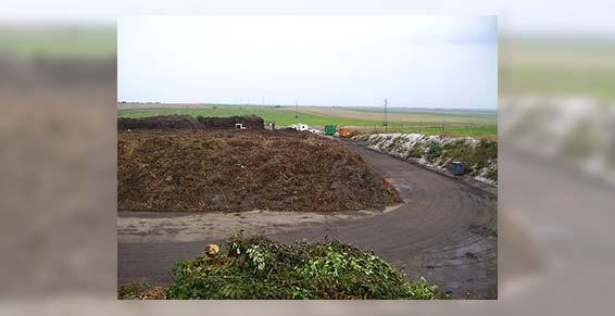 Stockage et recyclage des déchets