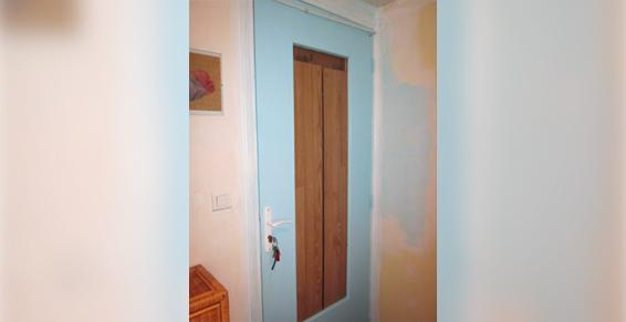 Mise en sécurité d'une porte