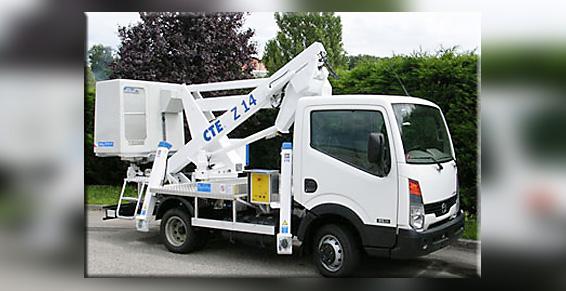 Camion nacelle - Location de matériel pour entrepreneurs