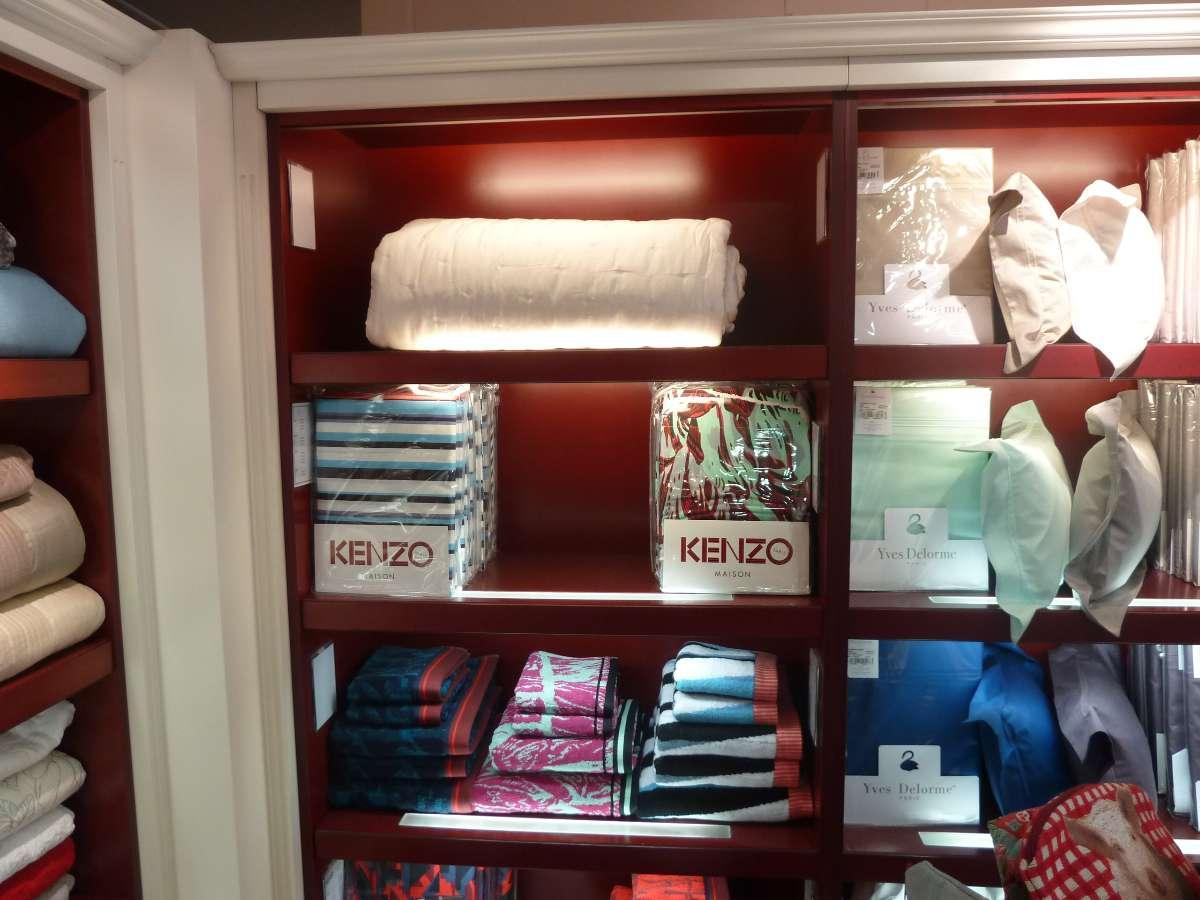 Linge de maison Kenzo à la boutique Signature en Haute-Vienne