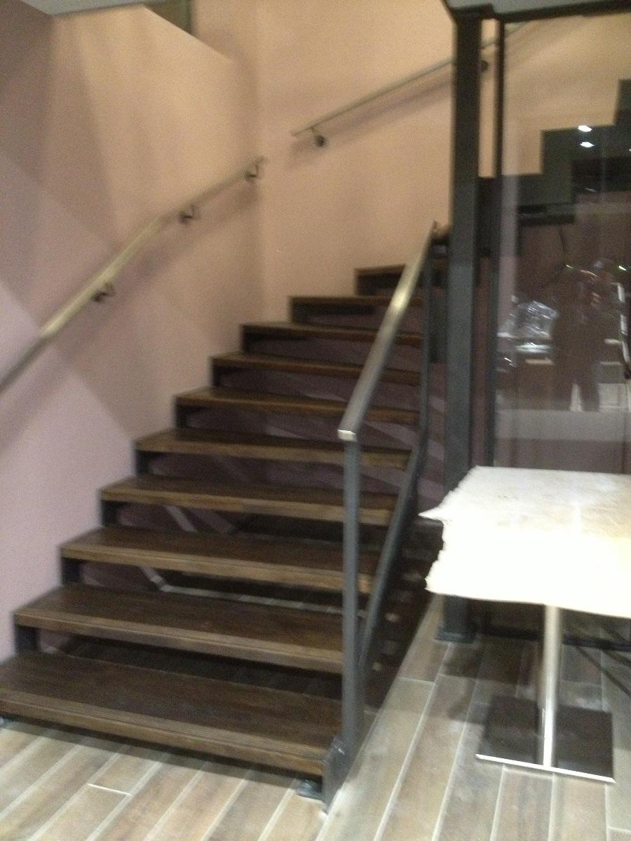 escalier à crémaillère quart tournant