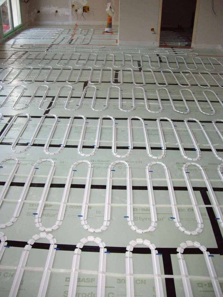 LNB  plancher chauffant electrique