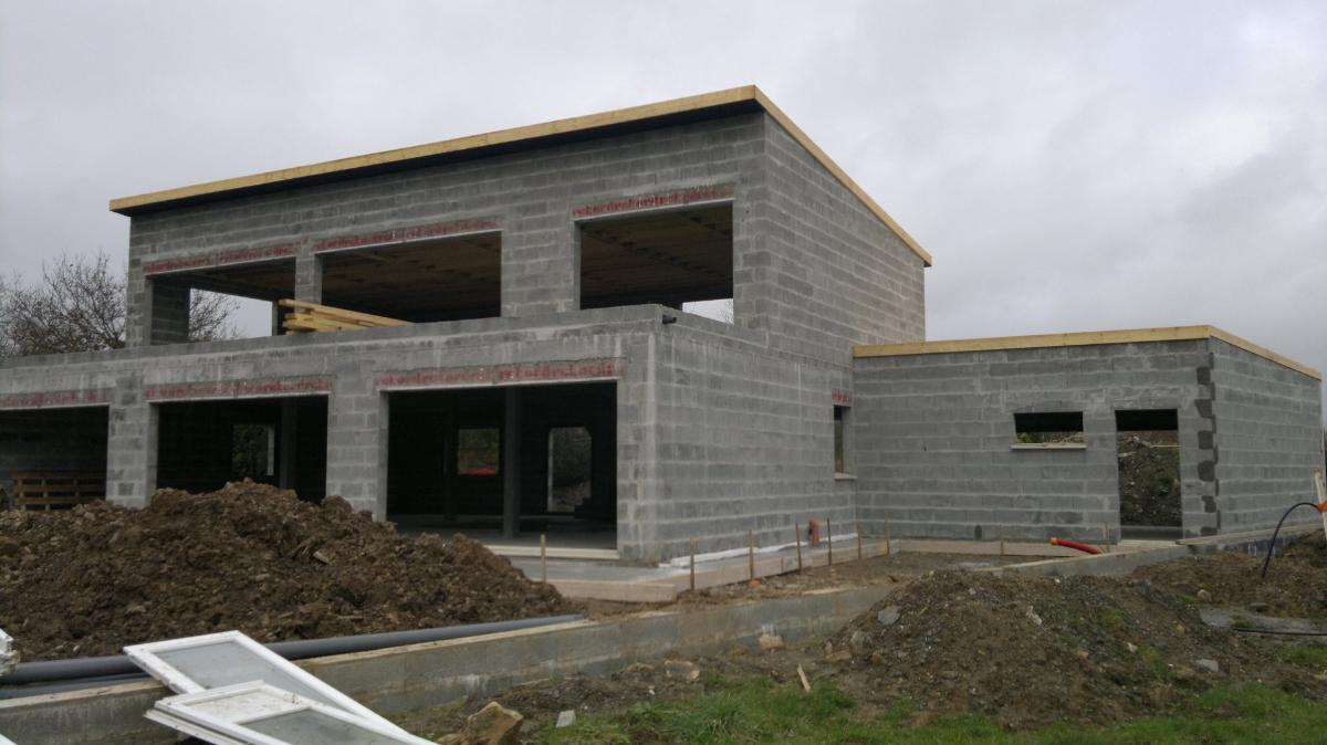 Maison en Agglo Ciment