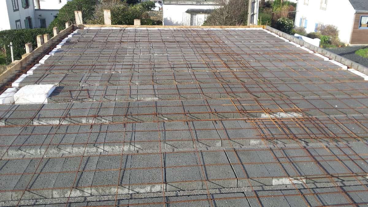 Plancher en béton - MFDS Constructions